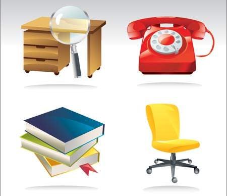 Free Office Vector Icons