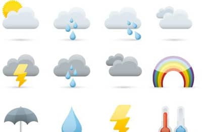 Free Weather icon set