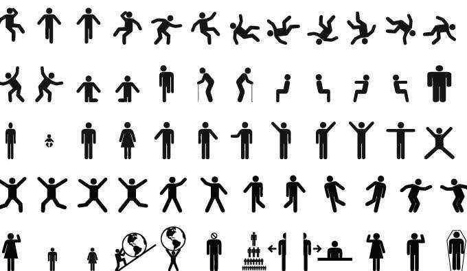 Pictogram Signs Vector
