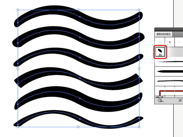 Create your own vector brushes in illustrator part