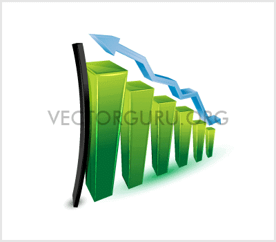 3D Graph – Bright and Glossy