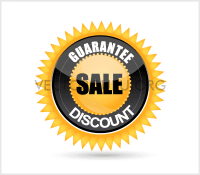 Guarantee Sale Discount Badge