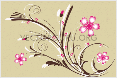 Retro Floral Artwork 1