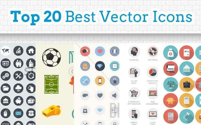Top 20 Vector Icons