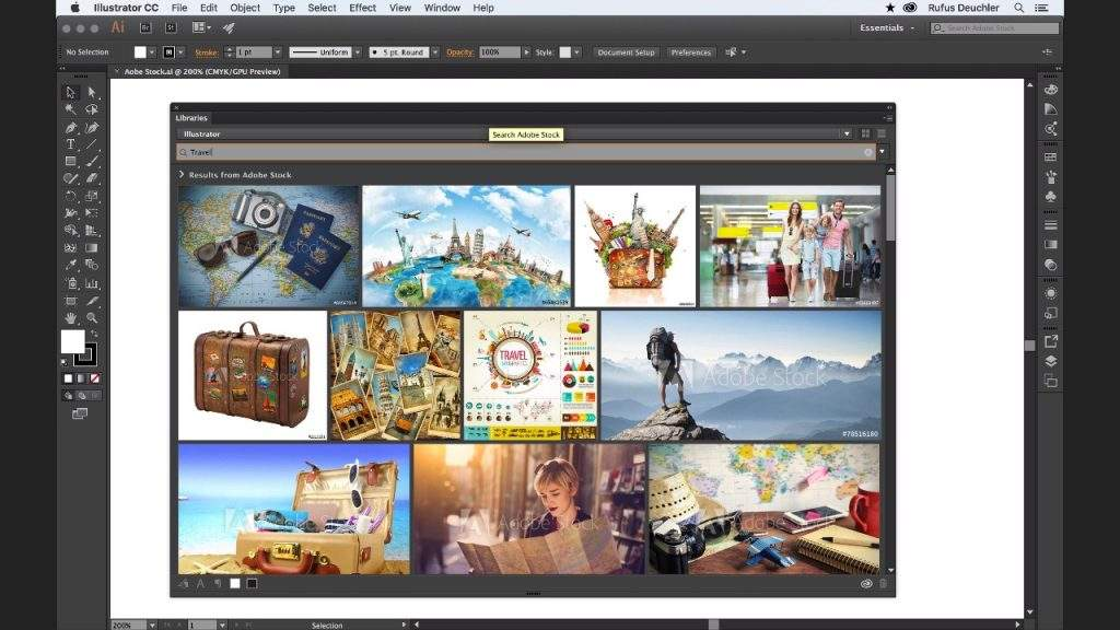 Finding Adobe Stock Images in Illustrator CC is Now Easier than Ever!