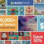 Vectorfresh – Limited Offer! 1 Million+ Vectors to Choose for $49/Year!