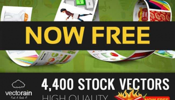 Introducing Vectorain, Your New Own Free Vector Site!
