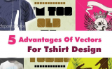 5 Advantages Of Vectors For Tshirt Design