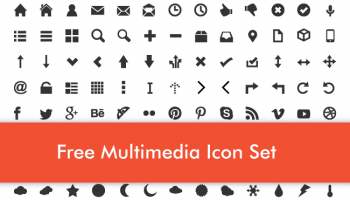 Free Multimedia Icon Set
