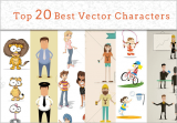 Top 20 Best Vector Characters