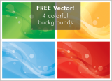4 Free Abstract Backgrounds