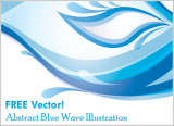 Free Graphic – Abstract Wave Vector