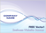 Free Vector – Website Banner Graphic