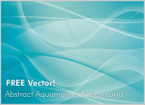 Free Vector – Abstract Aquamarine Background