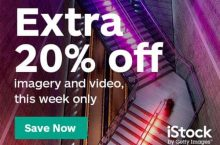20% OFF – Save BIG only this week with iStockphoto promo code