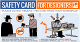 Essential Safety Card Infographic for Designers