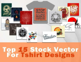 Top 15 Stock Vectors for T-shirt Design